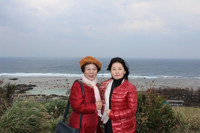 西会長と 奄美大島にて